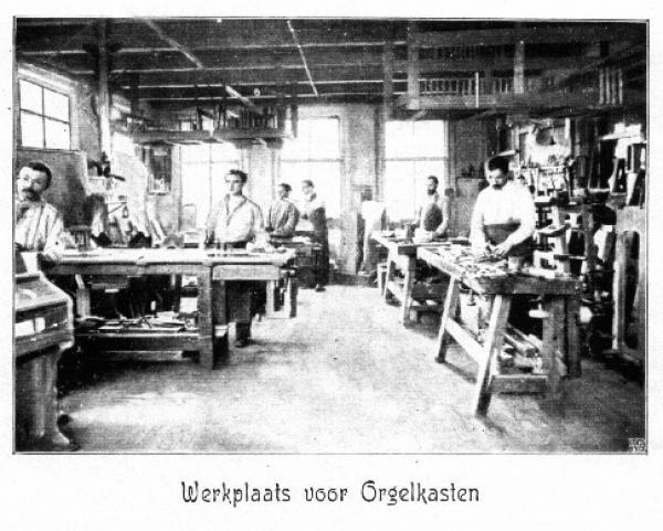 07 werkplaats voor orgelkasten